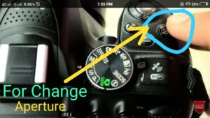 Aperture Activator in manual mode