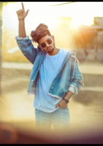 stylish photo pose for boy standing