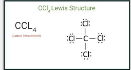 CCl4 Lewis Structure (Carbon Tetachloride)